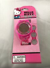 Hello Kids Girl Watch LCD Wrist Flashing Character