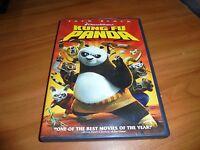 Kung Fu Panda (DVD, 2008, Full Frame) Jack Black