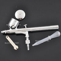 BF Dual Action Gravity Feed Airbrush Gun Spray Art Paint Kit Tattoo Nail Tool 80