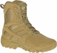 """MERRELL Moab 2 8/"""" Waterproof J15845 Tactical Military Army Combat Boots Mens"""