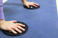 NEW Set of 2 Core Sliding Glide Plates Ab Sliders Home Gym Workout Disks Cardo