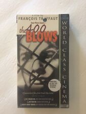 The 400 Blows Vhs Cassette Factory Sealed Screening Copy New