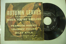 "ROMAN NEW ORLEANS JAZZ BAND""AUTUMN LEAVES-disco 45 giri RCA Italy 1961"""
