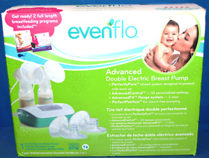 NEW Evenflo 2951 Deluxe Advanced Double Electric Breastpump