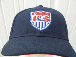 VINTAGE NIKE USA SOCCER LOGO TEAM STRAPBACK CAP HAT NEW W/O TAGS FUTBOL