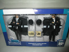 "2015 I Love The 80's Blues Brothers MISB 7"" Elwood & Jake Blues Figure Set"