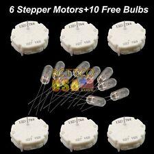 6x GMC Chevy Cadillac Cluster Stepper Motors Switec Juken X27.168 & 10 BULBS