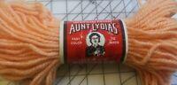 Aunt Lydia's Heavy Rug Yarn 305 Peach 70 yards 100% Kodel Polyester
