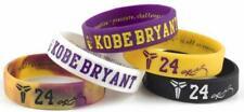Kobe Bryant NBA Bracelet Basketball Player LEGEND Wristband Black Mamba 5PCS