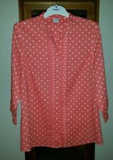 3/4 Sleeve Blouse No Spotted Tops & Shirts for Women
