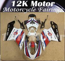 Fit For DUCATI 848 EVO 1098 1098s 1198 1198s Fairing Kit Fairings Set Panel 12