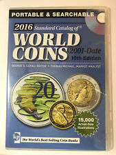 2016 Standard Catalog of World Coins 2001-Date 10th Edition CD used