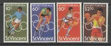 ST.VINCENT SG640/3 1980 SPORT FOR ALL MNH