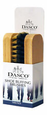 Dasco Small Bristle Shoe / Boot Cleaning Buffing Brush - Twin Pack