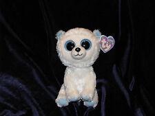 Ty Beanie Boo Tundra the Polar Bear 6 inch 2012 Non-glitter eyes NWT
