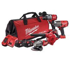 Milwaukee M18 4PC Tool Kit - Brand New