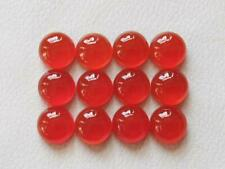9x9 mm Round Natural Red Onyx Cabochon Gemstone Wholesale 20 pcs Free Shipping