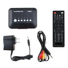 AGPTEK Multi TV Media Player HDMI 1080P HD USB SD MMC RMVB MP3 AVI MPEG Divx MKV