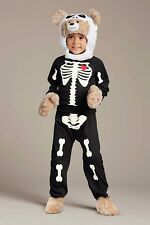 boys CHASING FIREFLIES BUILD A BEAR SKELETON HALLOWEEN COSTUME complete SIZE 4-6