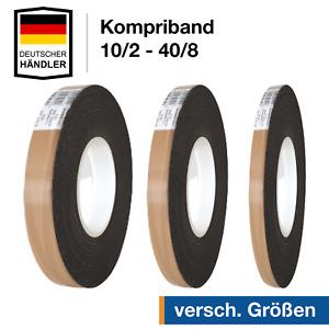 Kompriband Quellband Abdichtband Fugendichtband Fensterband Dichtband 10/2-40/8