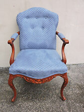 French Cherry Carved Living Bed Room Side Chair 6251