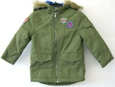 Epic Threads Toddler Boys Hooded Jacket Coat Sage Green Size 3T NEW KD1309