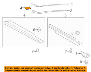 FORD OEM 13-18 C-Max-Pillar Molding Lower Retainer Right AM5Z5803178B
