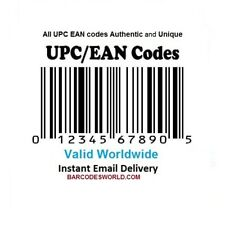 UPC EAN Codes GS1 Issued codes For Amazon