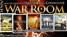 5 Pk Fireproof - Facing The Giants WAR ROOM - Flywheel - Courageous DVD NEW