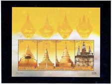 THAILAND 2019 Pagodas S/S