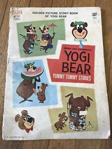 Vintage YOGI BEAR Yummy Tummy Stories, Golden Picture Stories #ST2 -1961