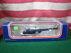 White Rose MLB Boston Red Sox Baseball Team Die Cast Jet Ranger 1:43 Helicopter
