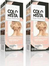 2 x L'Oreal Colorista Hair Makeup Pink Gold Pinkgold Blondes 1 Day Colour