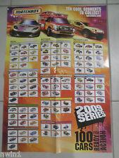 MATCHBOX 2009 COLLECTOR POSTER BN