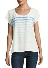 Joie Kendelline Striped Silk Blouse Top New