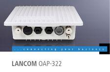 Lancom Wireless OAP-322 Outdoor Access Point / Hotspot 802.11a/b/g/n