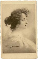 Tina di Lorenzo - Illustrata da E. Trevisan - Primi del '900 - NON VIAGGIATA
