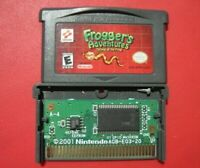 Frogger's Adventures: Temple of the Frog Nintendo Game Boy Advance *Saves*