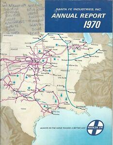 Annual Report - Santa Fe Industries - 1970 - Railroad Oil Lumber (AR83)