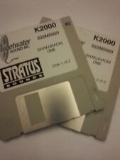 KURZWEIL ~ SHAKUHACHI ONE ~ Floppy Disks K2X/K25/K26 w/VAST PROGRAMMINGS!