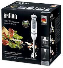 Braun Multiquick 5 Vario Stabmixer Handmixer mit Splash Kontrolle & 21 Speed