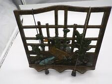 Lovelly  Cast Iron Cookery Cook Book Display Stand Recipe Menu Holder