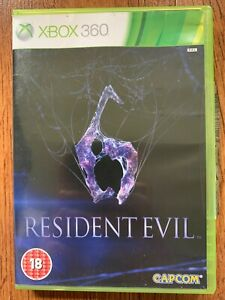 Resident Evil 6 XBox 360 Video Game Classic Survival Horror Zombies