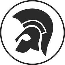 TROJAN RECORDS set of 2 STICKERS  CAR WINDOW BUMPER SCOOTER STICKER DECAL