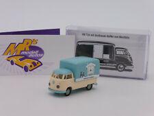 "Brekina 32455 # VW Bus T1b mit Kofferaufbau in "" VW Werbung "" 1:87 Formneuheit"