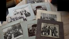 lot de 8 grandes photos de Mariages circa. 1910-1930 WEDDING original PICTURES