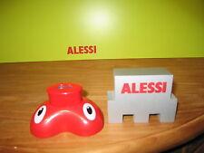 ALESSI *NEW* Taille-crayon résine rouge 9,8x7,4cm h.5,1cm AMGI05R Pig Pencil