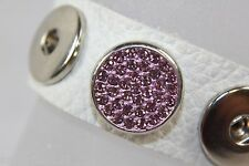 Button Click Push Buttons RHINESTONE BERRY Compatible with Chunk Bracelet 3255