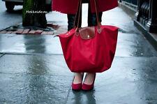 Longchamp Le Pliage Large Nylon Tote Bag Handbag - Colour Red - Brand new