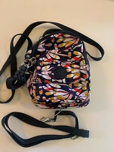 Kipling Small Shoulder Bag,Good Used Condition Bright Col +Kipling Rubber Monkey